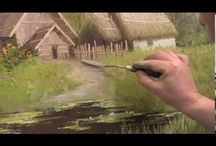 Watercolour videos / Watercolour tutorial video
