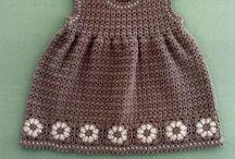 Reena crotchet dresses for girls