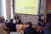 Inauguracja Śląskiego Czerwca Projektowego / 5 czerwca 2014 r. gościliśmy Organizatorów Śląskiego Projektu Czerwcowego, a także przedstawicieli patronów medialnych i władz regionalnych. Spotkanie zapoczątkowało cykl działań, które będą odbywały się w czerwcu na ziemiach Śląska Opolskiego, Dolnego i Górnego. Celem wydarzeń jest podnoszenie jakości funkcjonalnej i estetycznej otoczenia człowieka poprzez wywoływanie popytu na usługi projektowe oraz ich profesjonalną obsługę.