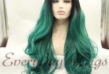 Ombre wigs / Synthetic Ombre hair wigs from  Everydaywigs