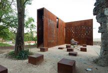 Aço corten / Arquitetura decoração design