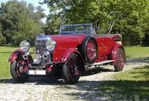 BBC Mystery Series - Campion / Albert Campion drives a beautiful red Lagonda 16/80 in the BBC Mystery Series - Campion. Adapted from Margy Allingham's mysteries, the Nigel Hess music is iconic.