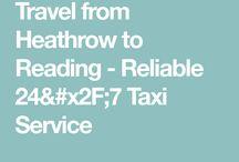 Heathrow to Reading Taxi