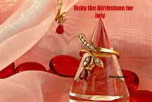July Birthstone - Ruby / This is all about Rubies