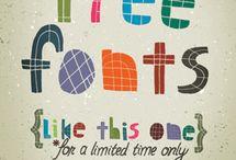 Fonts / Fonty a psaní