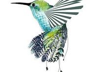 Kolibri-Tattoo