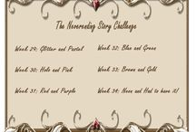 The Neverending Story Challenge / Manicures from The Neverending Story Challenge