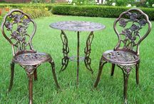 Outdoor Patio Furniture / Love Spring and Summer to sit outside on my outdoor patio dining set. / by Jodie Smith