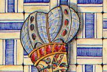 Zentangle and more / Dibujos, zentangles,draw, Mancheño