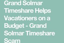 Grand solmar Timeshare November Blogposts