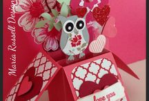 Valentine Cards in the Box