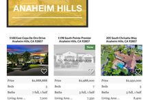 Search For Homes: Anaheim Hills / 0