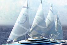 A Lot of Yachts  / Beautiful and Luxurious Yachts from all over the world.