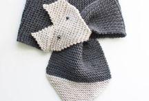 Foulard tricoter