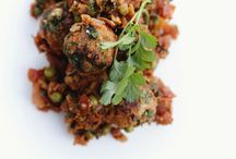Vegetarian Dishes / Chickpea Patties
