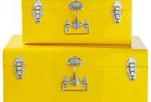 Chambre - déco jaune