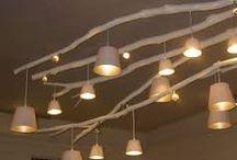 Lámpák fából