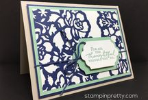 Floral Phrases/Detailed Floral Thinlits Card Ideas / by Laurie Graham: Avon Rep