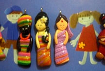 my creations from polymer clay / Sculpey and fimo is my favourite !