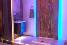 Bathroom Inspiration / Bathroom Inspiration, Bathroom, Bathroom Lighting, Bathroom Ideas, How to brighten up your bathroom, Bathroom 2016