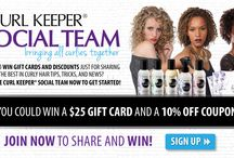 Curl Keeper Social Team