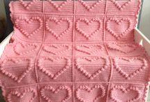Hartjes / Hartjes deken