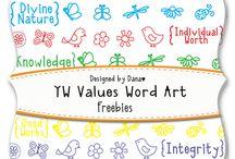 Word art, Beautiful fonts
