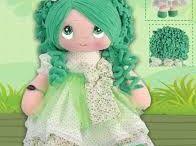 muñecas de pano