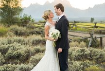Moose Head Weddings / Moose Head Ranch in Jackson Hole, Wyoming is the ideal venue for your vows!