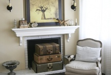 My Fireplace and Mantle stylings / by Ivy Carruth