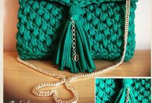 crochet purses&clutch