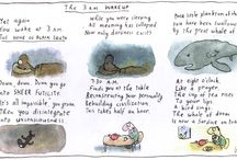 Whose Reality? Leunig / Ideas from the Year 12 English context.