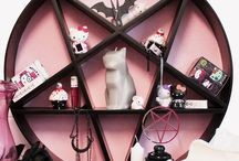 Pastel goth rooms and lifestyle