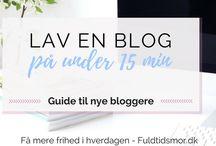 Danske blog guides: tjen penge på din blog