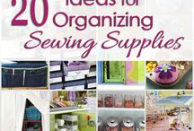 Sewing Room Organization / by Jenny Doepker