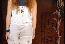 Art Dress : Frenezas / Handmade dress, inspired by my artwork, in collaboration with Lucia Cipriani