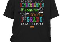 So long Kindergarten It's been fun Look out 1st grade Tshirt