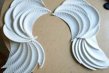 Paper Plates, Cups & Napkin Craft Ideas / by Lori Allred {allreddesign.net}