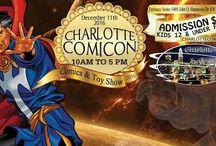 Charlotte Comicon Dec 11 2016