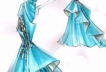 Moda /stil/model( Fashion İllüstrasyon) / Moda çizimleri nasıl yapılır?