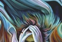 Emotional art / Feelings, emotion, sadness, depresion