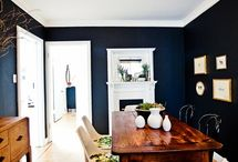Dramatic Darks / Fabulous rooms with deep dark use of colour