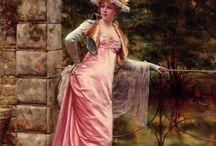 Frédéric Soulacroix / 1858-1933 Nato a Roma si inscrisse all'Accademia delle Belle Arti di Firenze, dove venivano formati pittori bravissimi nel ricreare ogni tipo di tessuti