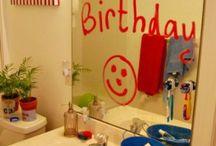 birthday special ideas...