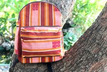 Stash your stuff in style / Siamese Dream Design bags, backpacks and totes in original ethnic textiles.