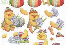Paques / Objets de Pâques pour la décoration