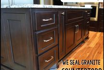Granite Tune-Up / Our 3-step process to clean, brighten & protect granite countertops.