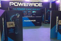Powerade / Trussing Lighting