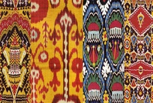 Ikat Patterns / Ikat pattern ideas for Stencils for interior painting