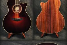 Acoustic Guitars / Acoustic guitars are as popular now as they have ever been. Here are a collection of beautiful acoustic instruments that will make you drool!